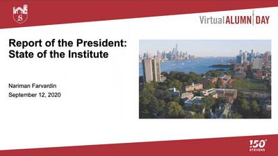 Title Slide - President's Address