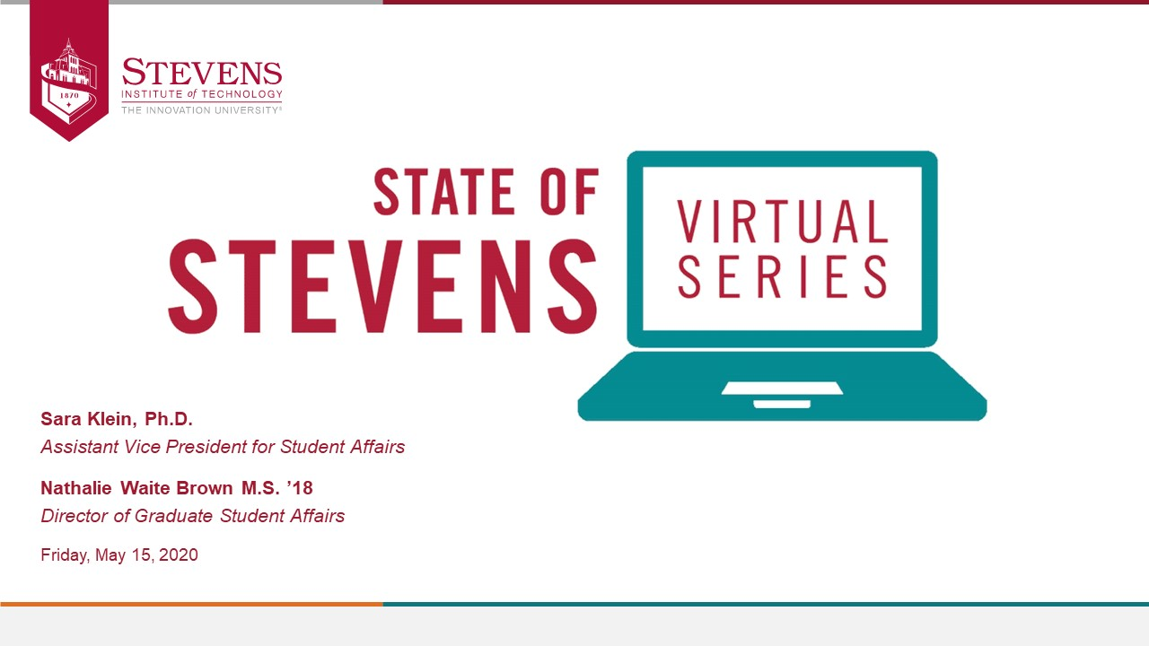 State of Stevens - May 15, 2020