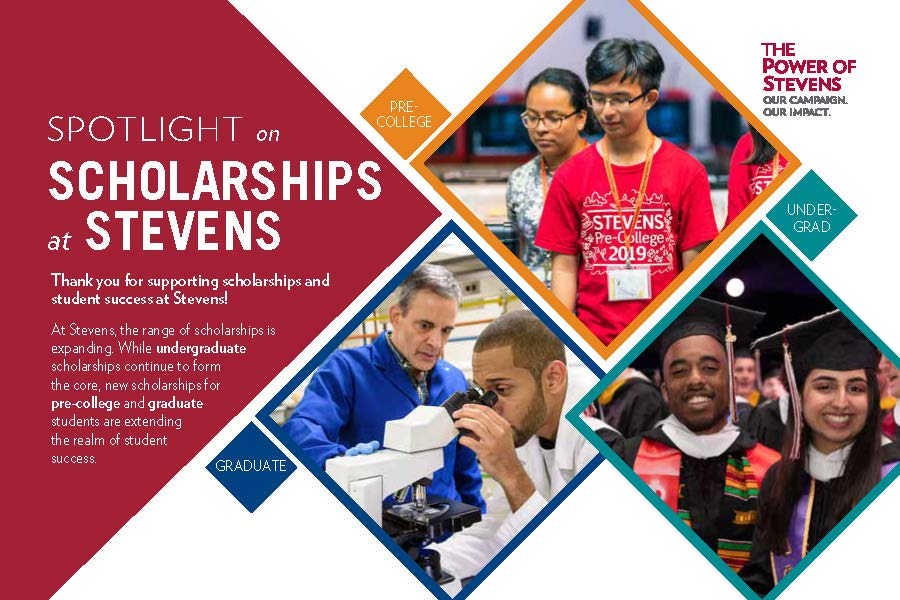 Spotlight on Scholarships at Stevens